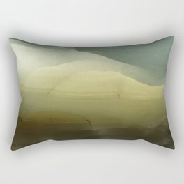 The ice that hides in the desert Rectangular Pillow