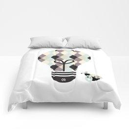 Poet: Bright Idea Art Series  Comforters