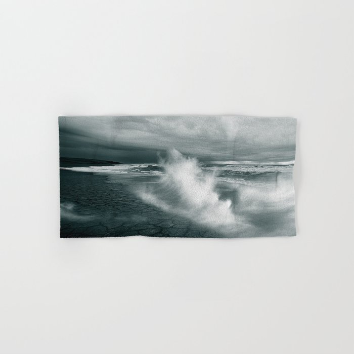 sea waves water Hand & Bath Towel