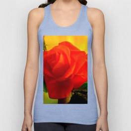 Rote Rose Unisex Tank Top