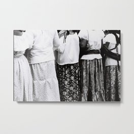 Mexican skirts Metal Print