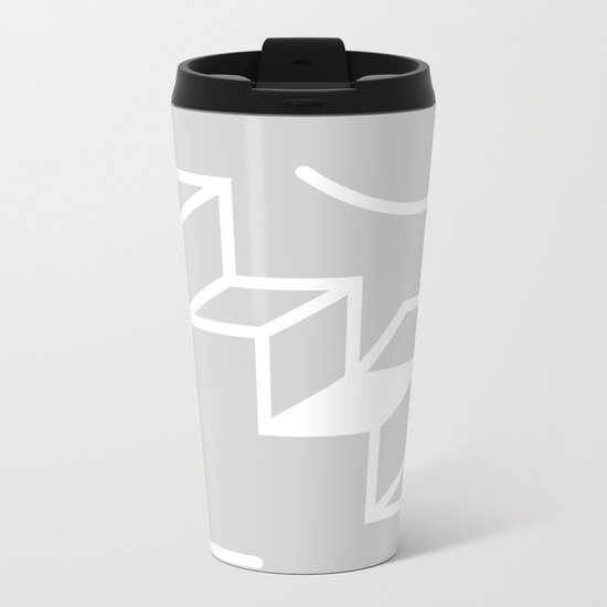 The Cave Metal Travel Mug