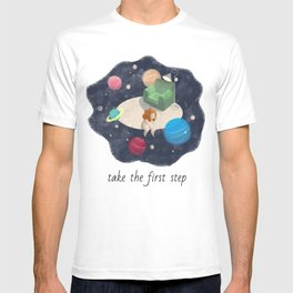 Take the first step T-shirt