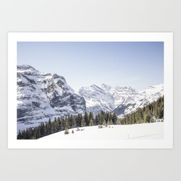 Mountain Calling Art Print