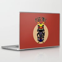 army Laptop & iPad Skins featuring Cat Army by BATKEI