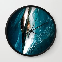 Light through the Ice – Fine Art Photography Wall Clock
