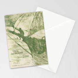 retro oceano nox. circa 1895  Stationery Cards