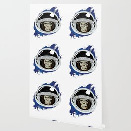 Space Chimp Wallpaper