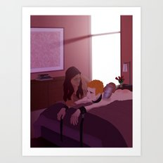 Aftercare Art Print