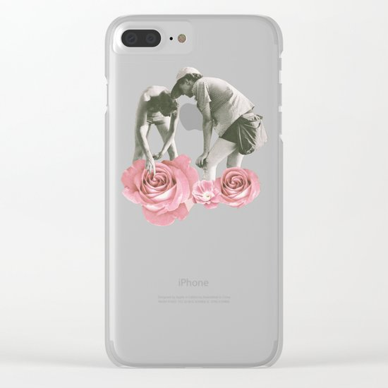 Extreme Gardening Clear iPhone Case