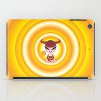 taurus iPad Cases featuring Taurus by HanYong