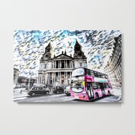 London Classic Art Metal Print