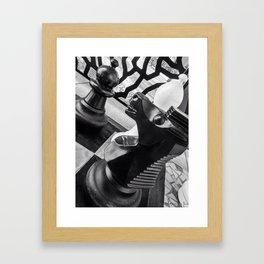 Black Knight Framed Art Print
