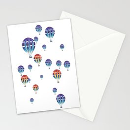 Hot Air Ballon Stationery Cards