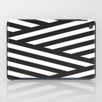stripes iPad Cases featuring Stripes by Dizzy Moments