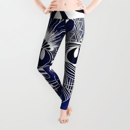 Tribal Cat Leggings
