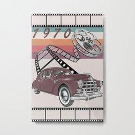 vintage poster Metal Print