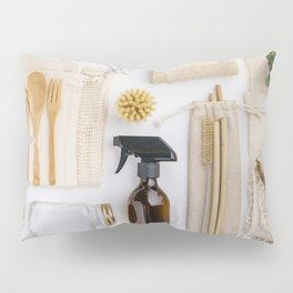 zero waste cleaning and beauty products Pillow Sham