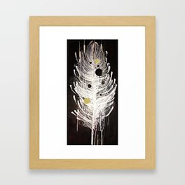 Feather Souls Framed Art Print