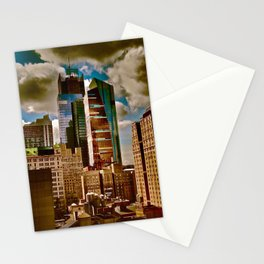 New York Towers Stationery Cards
