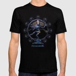 Shiva Nataraj, Lord of Dance (an actual factual fractal) T-shirt