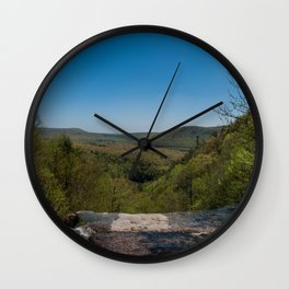 The Poconos Wall Clock