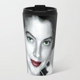 Ava Gardner Portrait #1 Travel Mug