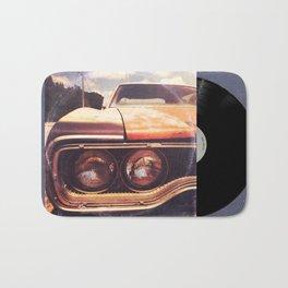 Rusty And Blue - America As Album Art Bath Mat