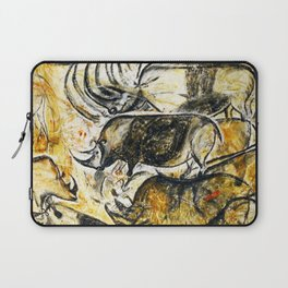 Panel of Rhinos // Chauvet Cave Laptop Sleeve