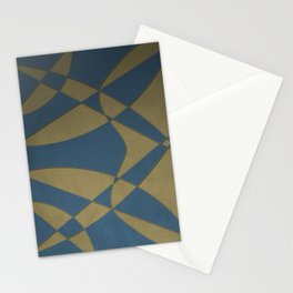 Wings and Sails - Blue and Beige Stationery Cards