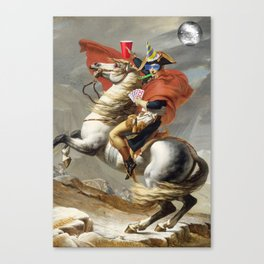 Napoleon Born2party Canvas Print