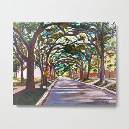Rice South Campus  Metal Print
