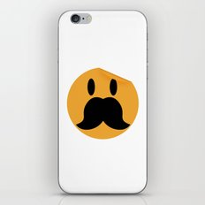 Moustache 13 iPhone & iPod Skin
