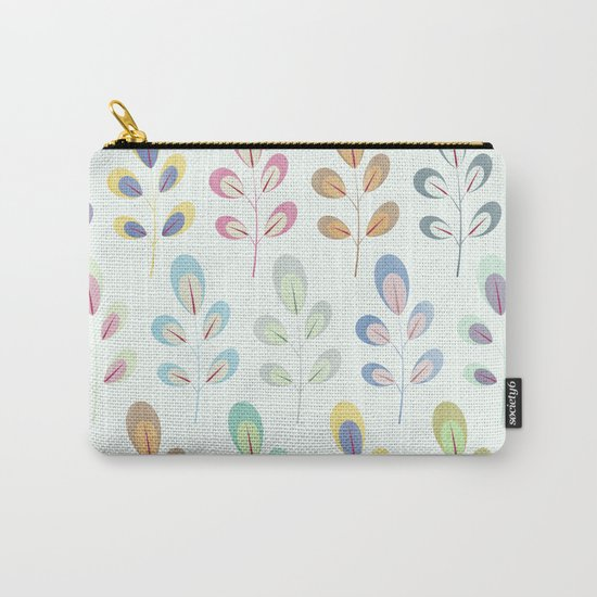Colorful Leaves III Carry-All Pouch
