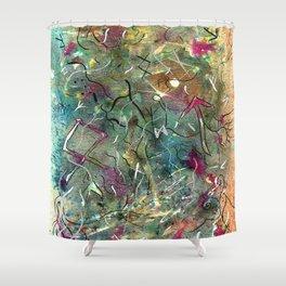 Runewind Shower Curtain