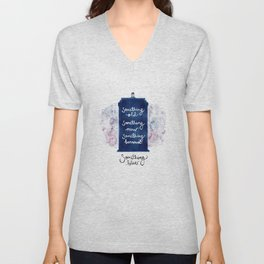 tardis - doctor who Unisex V-Neck