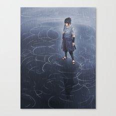 Sasuke Uchiha - Ripples of Consequence Canvas Print
