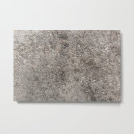 Stone Texture Photography Design Metal Print