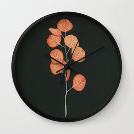 Black Pages Wall Clock