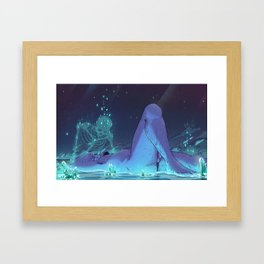 Aquamarina Framed Art Print