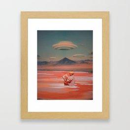 Comforting Silence Framed Art Print