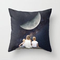 Night Wish Throw Pillow