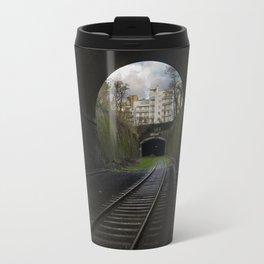 Ce tunnel est fermé // This Tunnel is Closed Travel Mug