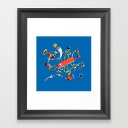 Dr Swiss Framed Art Print