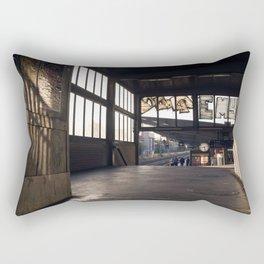 suburban railway station Rectangular Pillow