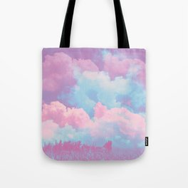 Pink cloud Tote Bag