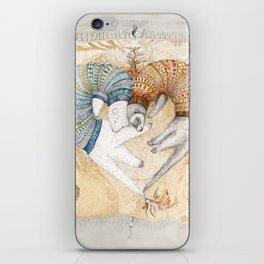 Ferret love iPhone Skin