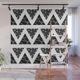 Split Diamonds Zentangle Wall Mural