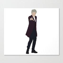 Twelfth Doctor: Peter Capaldi Canvas Print