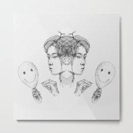 Inner Child of Destruction + Conceit  Metal Print